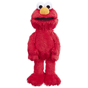 Sesame Street Love to Hug Elmo Talking, Singing, Hugging 14-inch Plush Toy
