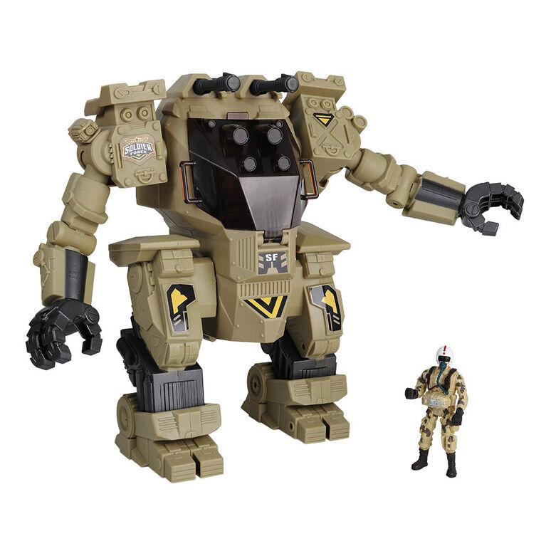 Soldier Force - Ensemble Exobot géant - Notre exclusivité