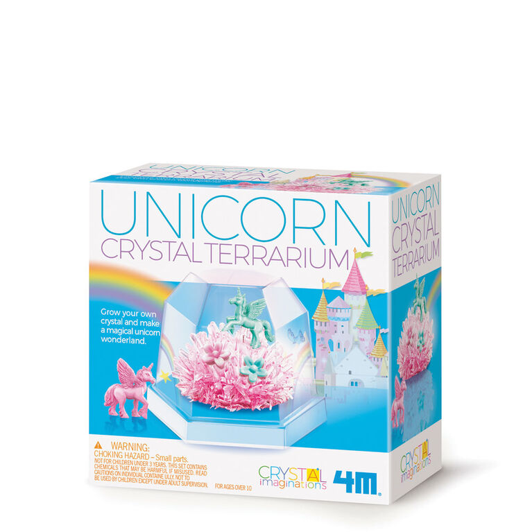 4M Unicorn Crystal Terrarium - English Edition