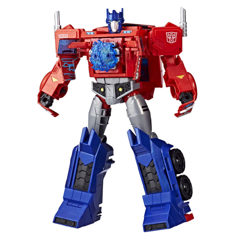 Transformers Cyberverse, figurine Action Attackers Optimus Prime de classe ultime