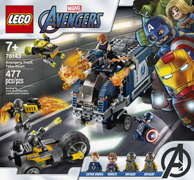 LEGO Super Heroes Avengers Truck Take-down 76143