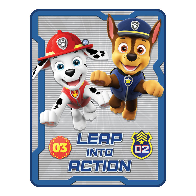 "Paw Patrol ""Make the Leap"" Throw"