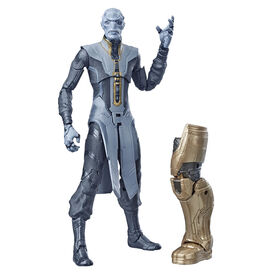 Avengers série Marvel Legends Avengers : Phase finale - Figurine de collection Ebony Maw de 15 cm de l'univers cinématographique de Marvel