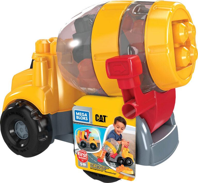 Mega Bloks CAT Cement Mixer  083143