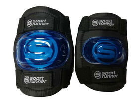 Sport Runner Medium/Large Knee and Elbow Pad Set - Blue - R Exclusive