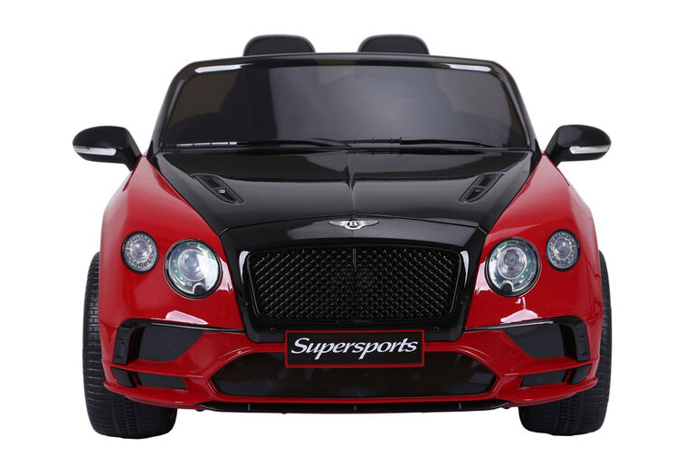 Bentley 12V Ride On - Red And Black - R Exclusive