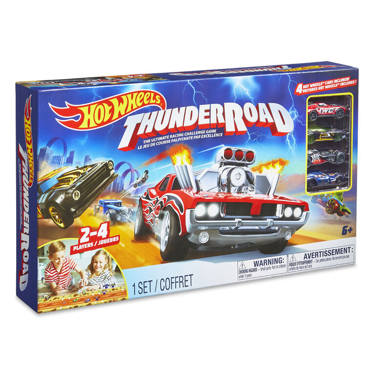 TCG Toys - Hot Wheels Thunder Road Game