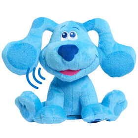 Blue's Clues & You! Peluche à Grains Qui Aboie - Blue - Notre exclusivité