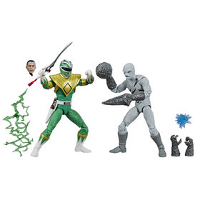 Power Rangers - Lightning Collection - Fighting Spirit Green Ranger and Mighty Morphin Putty