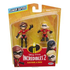 "Incredibles 2 3"" Precool 2-Pack Figures Assortment Elastigirl and Dash"