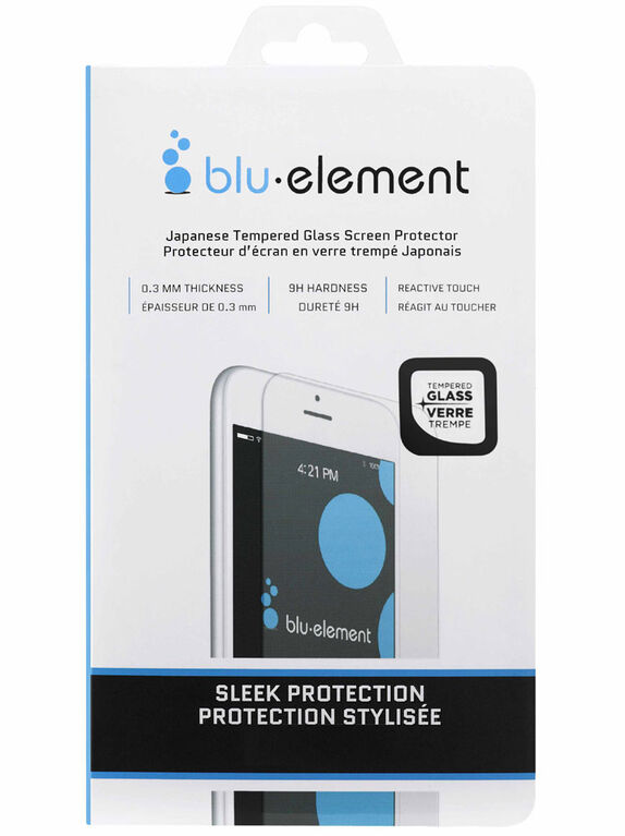 Blu Element Tempered Glass iPhone SE/5S/5