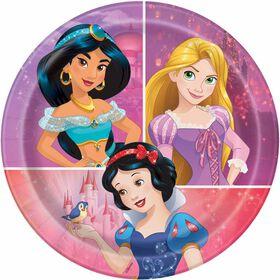 "Princess  7""  Plates, 8 pieces"