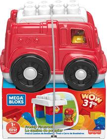 Mega Bloks - Camion de pompiers Freddy - R Exclusif