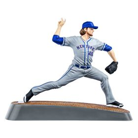 Jacob deGrom Mets de New York Figurine de baseball de 6 pouces.