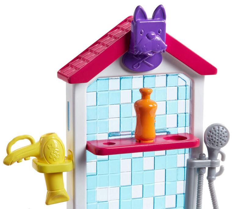 Barbie Pet Groomer Doll Playset
