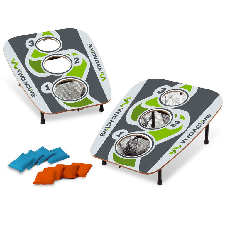 Viva Active 3 Hole Bean Bag Toss  - Recreational