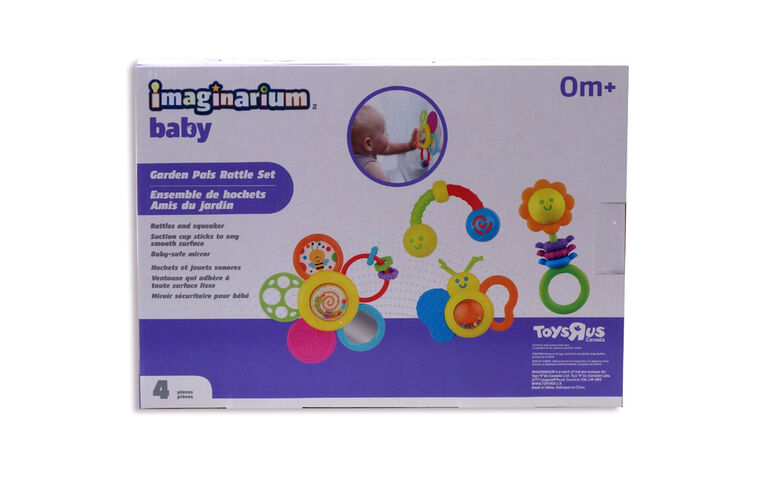 Imaginarium Baby - Garden Pals Rattle Set