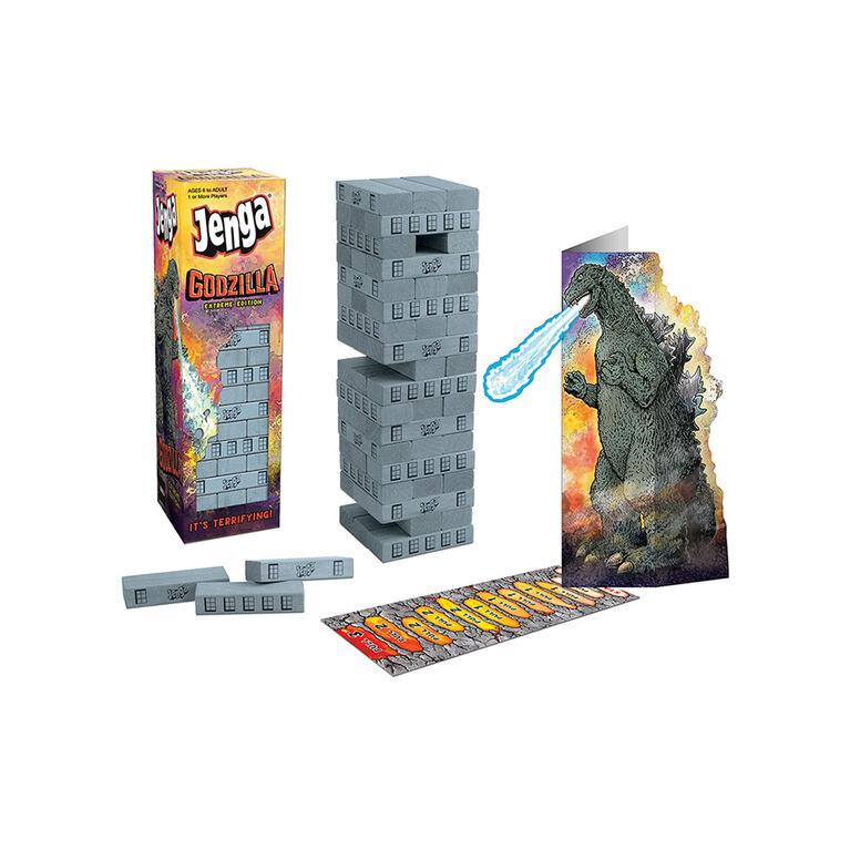 JENGA: Godzilla Extreme Edition Jeu De Plateau - Édition anglaise