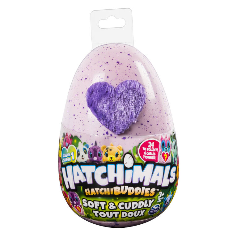 Hatchimals HatchiBuddies – 6 inch Tall Plush with Egg (Styles May Vary)