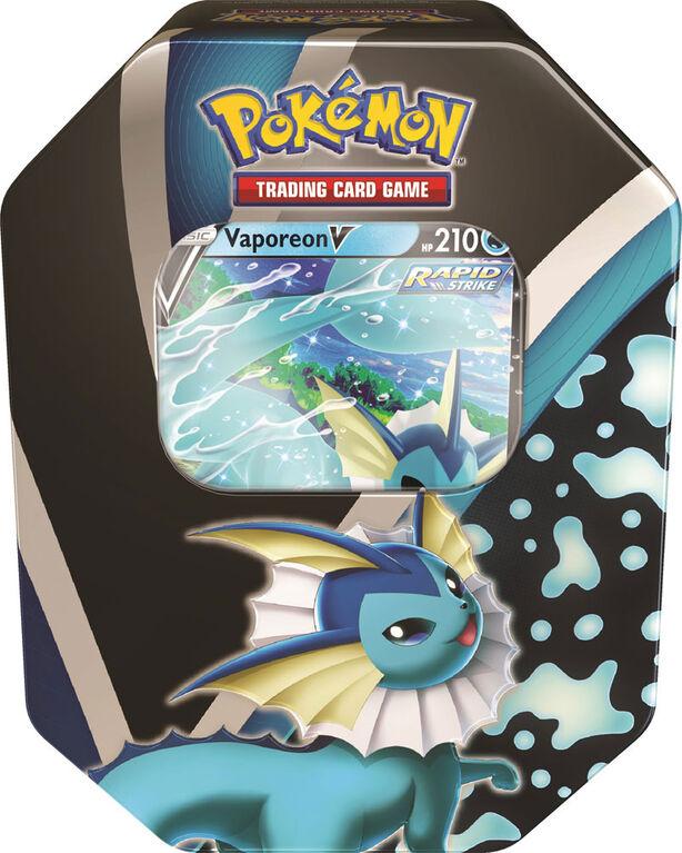 Pokemon Eevee Evolutions Tin - Vaporeon - English Edition