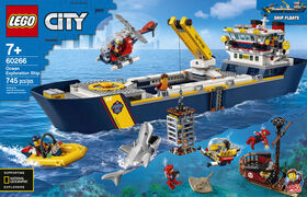 LEGO City Oceans Ocean Exploration Ship 60266