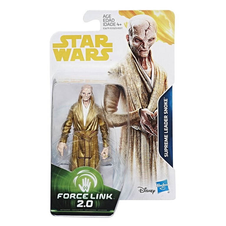 Star Wars Force Link 2.0 Supreme Leader Snoke Figure