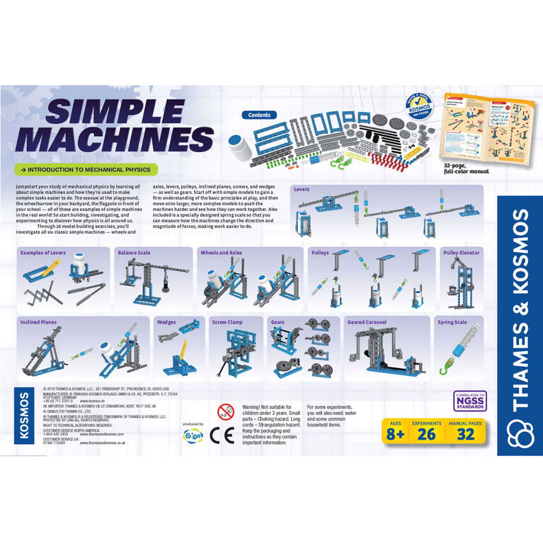 Thames & Kosmos: Simple Machines - English Edition