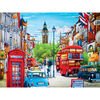 Travel Diary London - 550 Piece Jigsaw Puzzle - English Edition