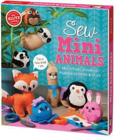 KLUTZ: Sew Mini-Animals