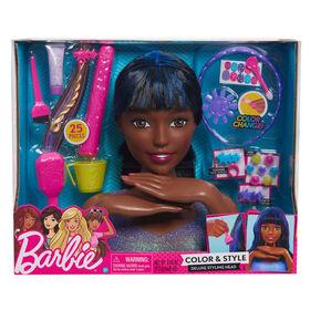 Tête de Coiffure De Luxe de Barbie.