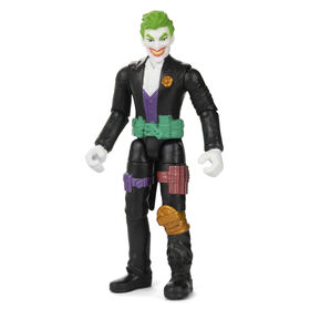 Batman 4-inch The Joker Action Figure with 3 Mystery Accessories