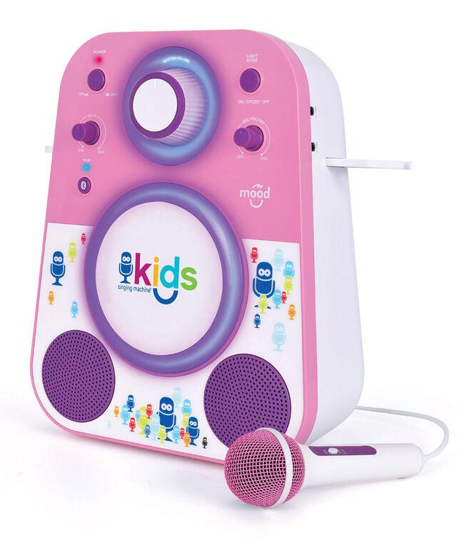 Singing Machine Bluetooth sing along system - Pink/Purple