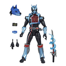 Power Rangers Lightning Collection - Figurine de collection Ranger Shadow de Power Rangers : Super Police Delta de 15 cm.