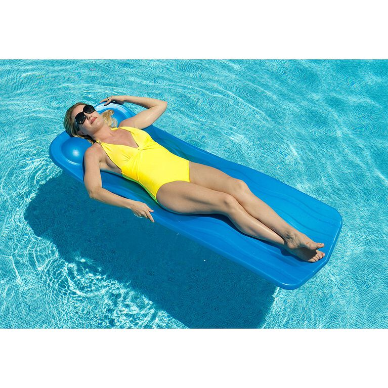Blue Wave - Marquis 125-in Thick Pool Float – Aqua
