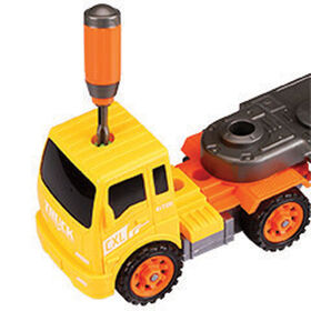 Take Apart Dump Truck and Trailer Set