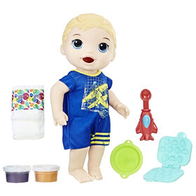 Baby Alive Super Snacks Snackin' Luke (Blonde)