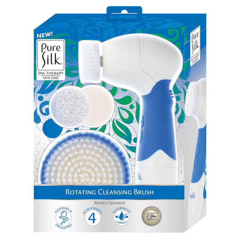 Kit de spa brosse de nettoyage rotative Pure Silk