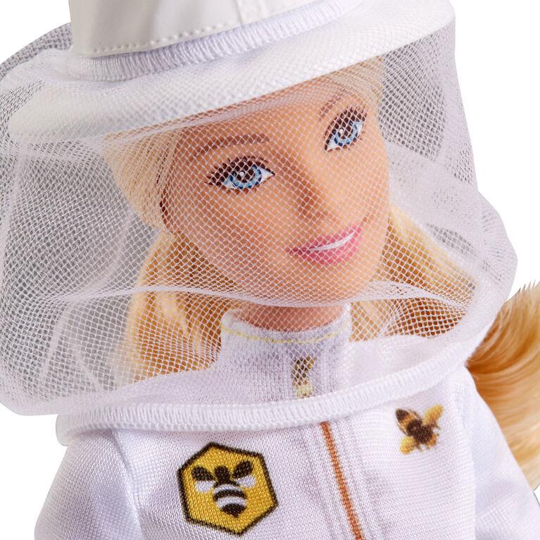 Barbie - Coffret de jeu Barbie Apicultrice - Cheveux blonds.