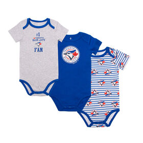 Snugabye - MLB - 3 Pack Body Suit - 18-24 Months