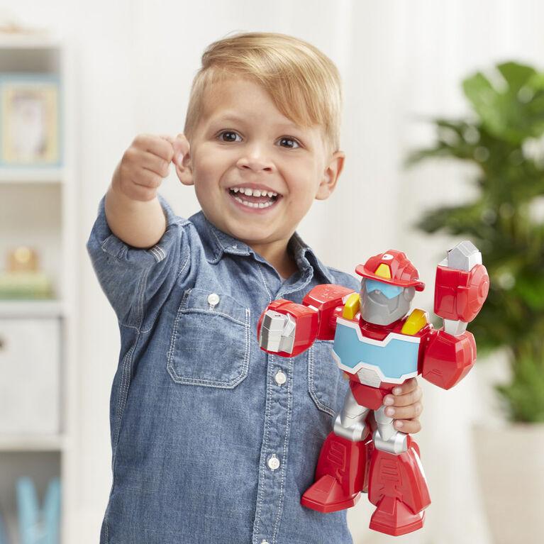 Playskool Heroes Mega Mighties Transformers Rescue Bots Academy Optimus Prime
