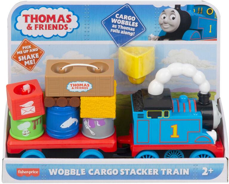 Thomas & Friends Wobble Cargo Stacker Train - English Edition