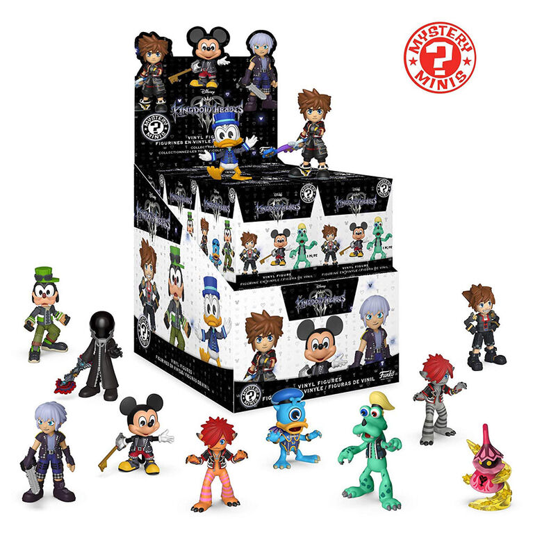 Funko Kingdom of Hearts Mystery Minis - 1 Random Mystery Characters in One Case