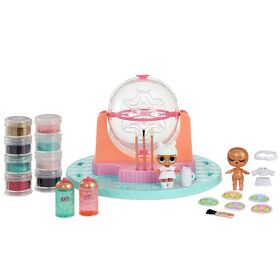 L.O.L. Surprise! DIY Glitter Factory Playset with Exclusive Doll - English Edition