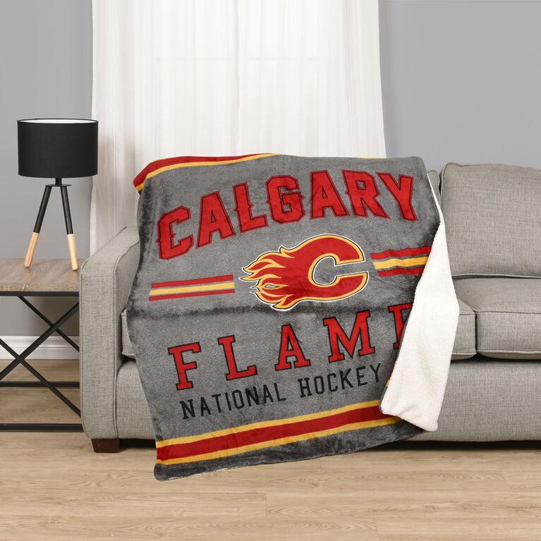 NHL Team Throw - Calgary Flames