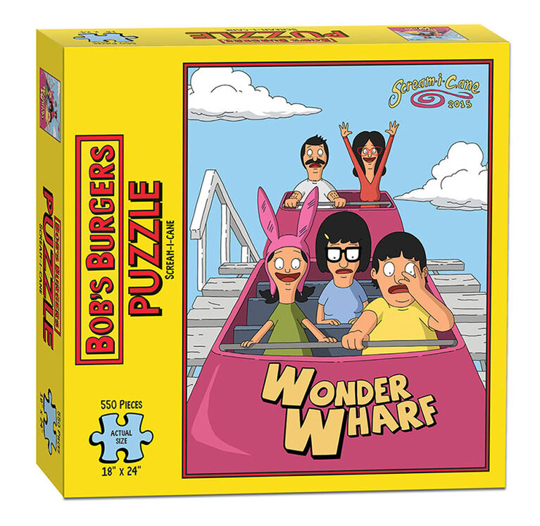 "Bob's Burgers ""Scream-I-Cane"" 550 Piece Puzzle"