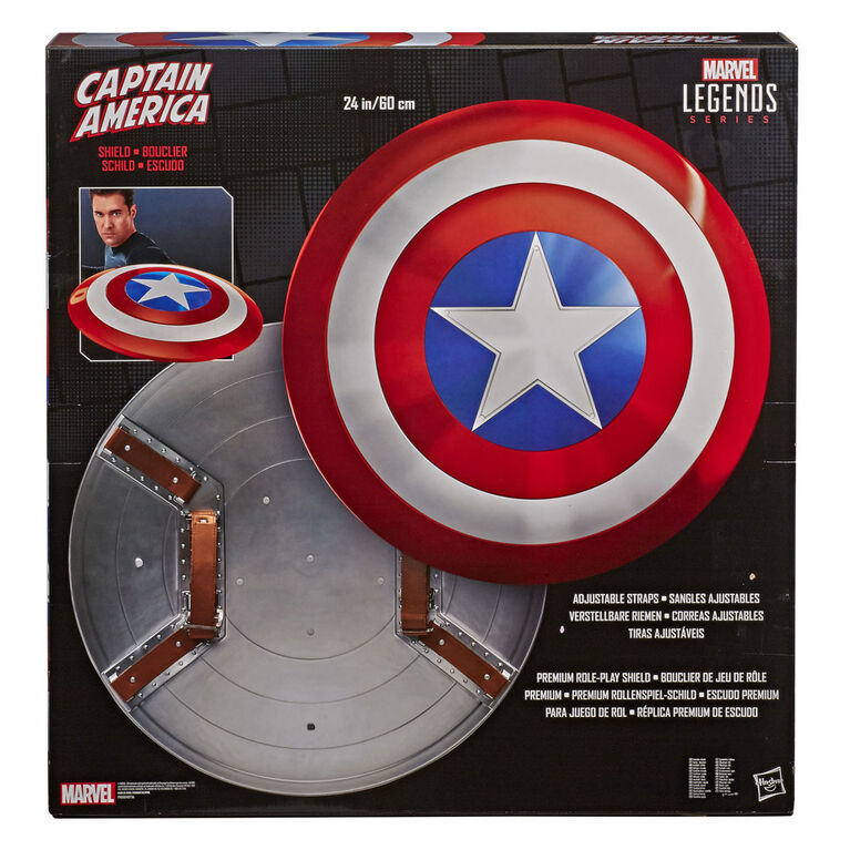 Marvel Legends Series Captain America Premium Shield Toys R Us Canada