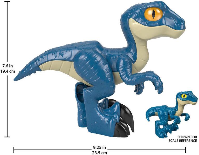 Fisher-Price - Imaginext - Vélociraptor Xl Jurassic World