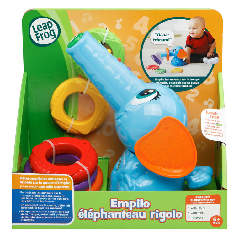 Stack & Tumble Elephant - French Edition
