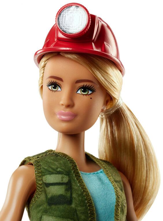 Barbie Career Paleontologist Doll