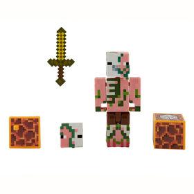 Minecraft Zombie Pigman Figure - English Edition